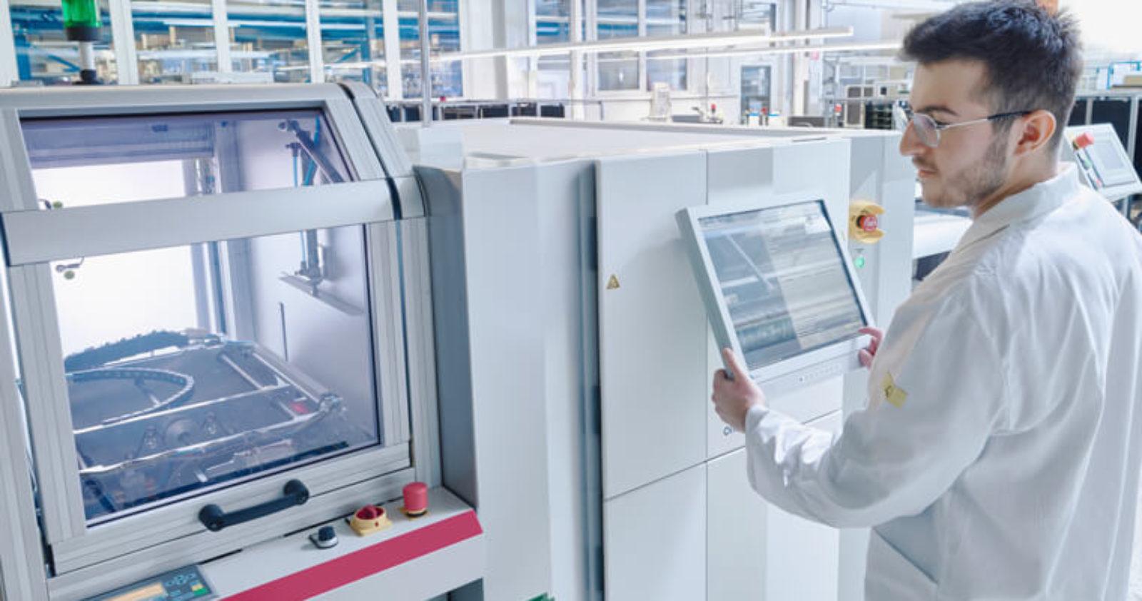 Testmethoden wie Automatische optische Inspektion (AOI) geben Sicherheit und begleiten die EMS-Serienfertigung bei Technosert