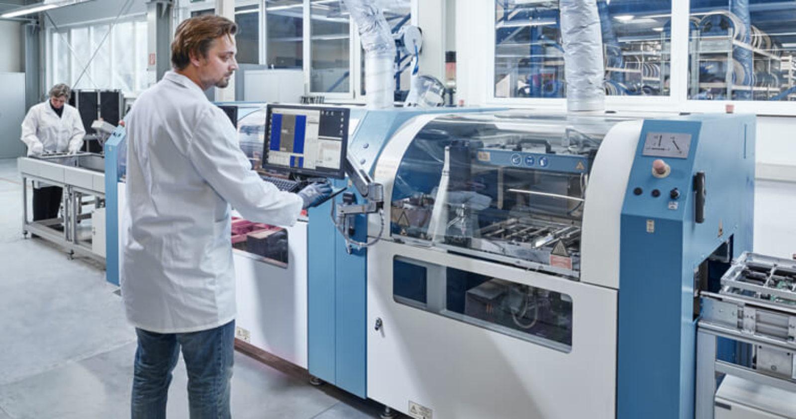 Technosert ist der Partner für EMS-Serienfertigung